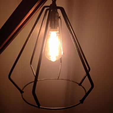 Custom Made Edison Bulb Frame
