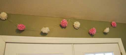 Custom Made Tissue Paper Poms And Garland