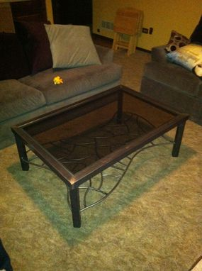 Custom Made Metal Coffee Table ( The Other Woman)