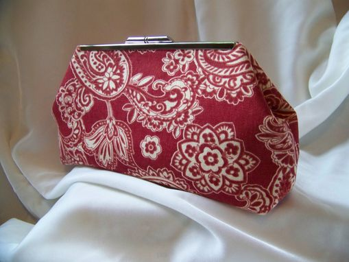 Custom Made Red Sassanid Clutch  Free Shipping