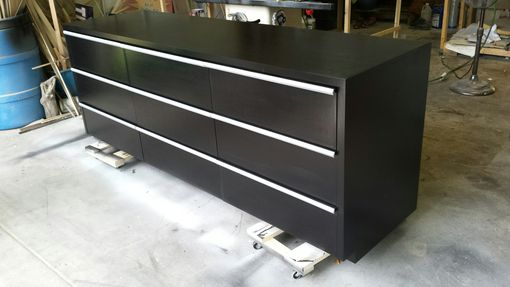Custom Made Long 9 Drawer Dresser