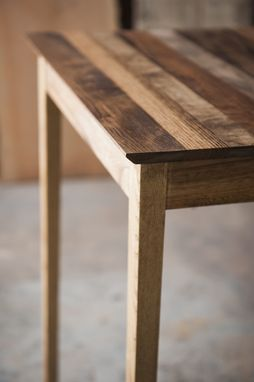 Custom Made Salvaged Wood Side Table