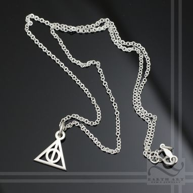 Custom Made Deathly Hallows Necklace