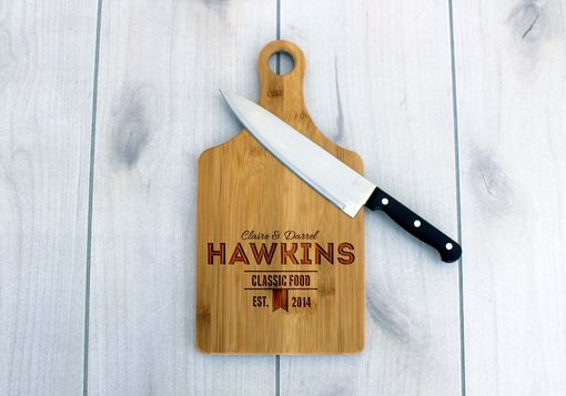 Custom Made Personalized Paddle Board -- Cb-Pad-Hawkins