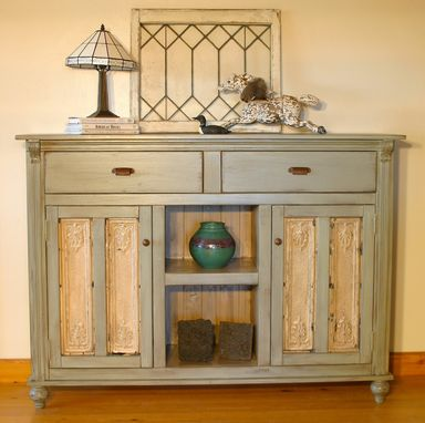 Custom Made Ruth's Pressed Tin Buffet