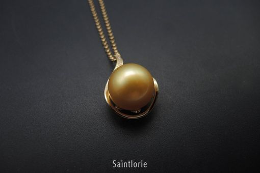 Custom Made 13-14mm South Sea Pearl Necklace