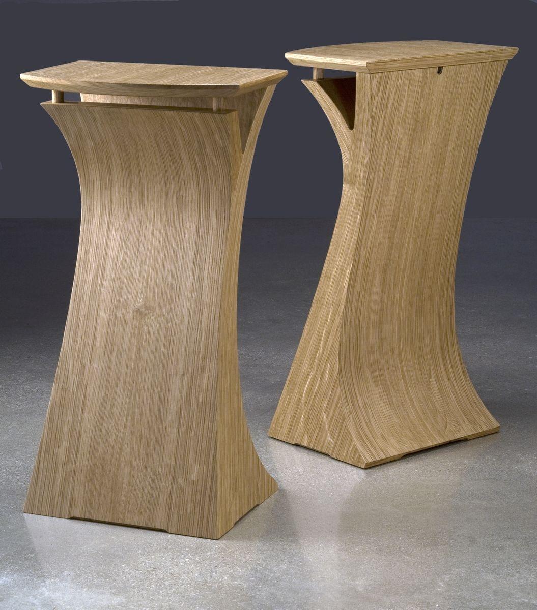 Custom made quarter sawn white oak speaker stands by eben blaney custom made quarter sawn white oak speaker stands floridaeventfo Images