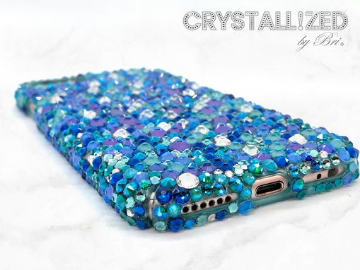 Custom Made Crystallized Iphone Case Any Model Cell Phone Bling W/Swarovski Crystals Bedazzled