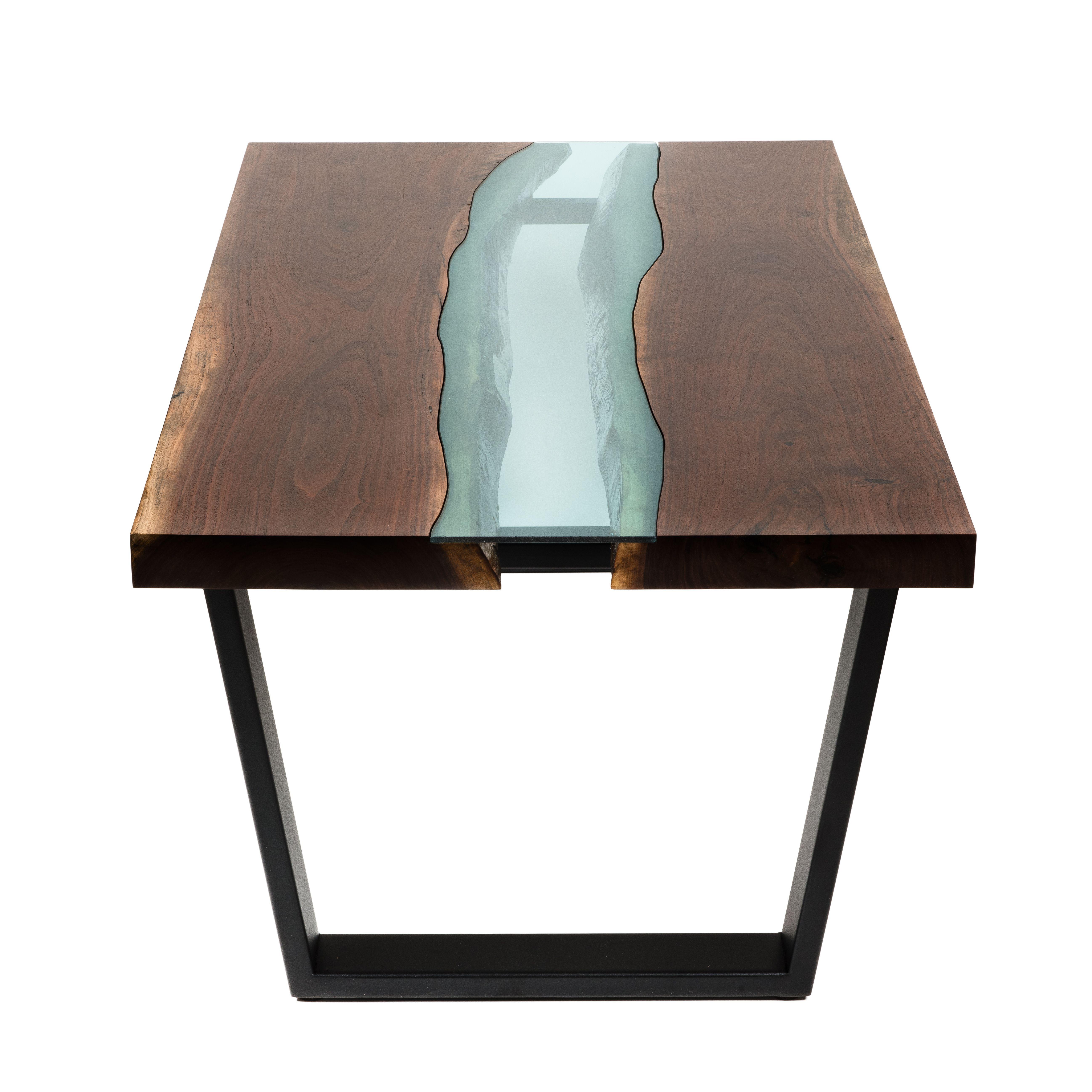 Black Live Edge Coffee Table: Buy A Handmade Live Edge Coffee Table,Black Walnut, Made