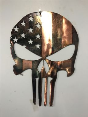 Custom Made Limited Edition Punisher Skull