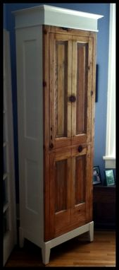 Custom Made Old Door Cabinet
