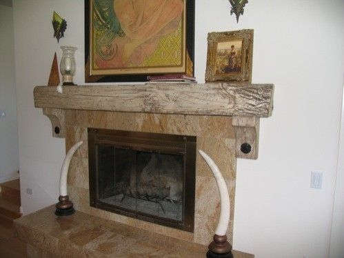 Custom Made Mantle Beam