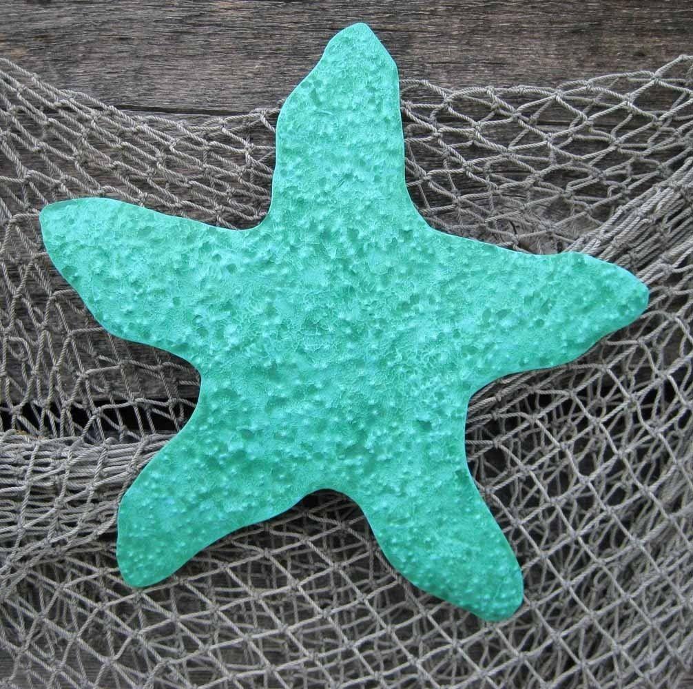 Metal Starfish Wall Art Sculpture