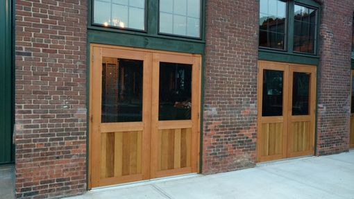 Custom Made Hand Built Brewery Doors