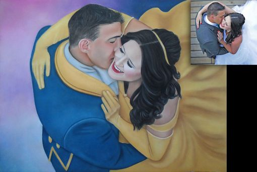 Custom Made Custom Disney Painting Beauty And The Beast, Tangled, Or Your Fairytale Choice