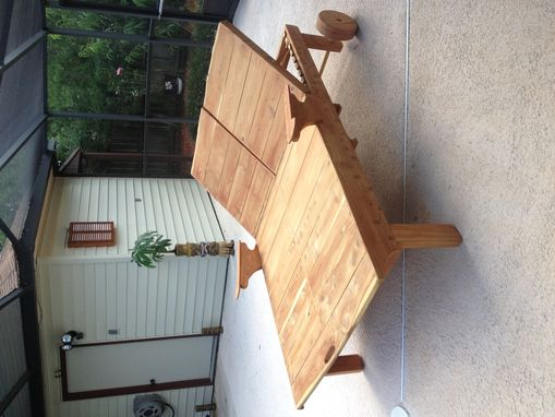 Custom Made His/Her Aromatic Cedar Chaise Lounge
