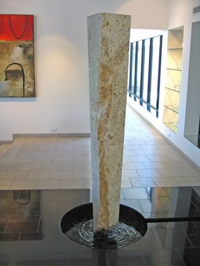 "Custom Made ""Floating Column"" - Fountain/Waterfeature"