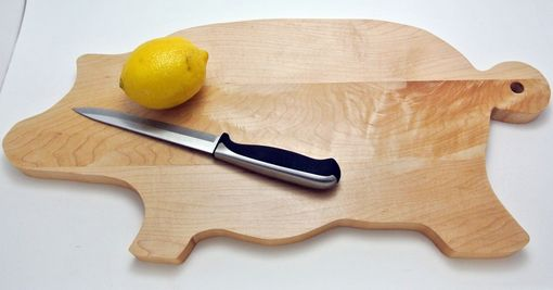 Custom Made Custom Shaped Cutting Boards