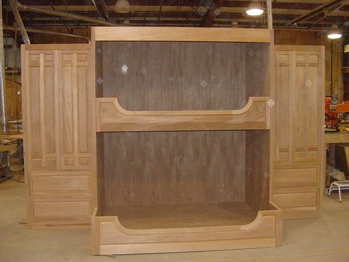 Custom Made Mahogany Bunk Beds