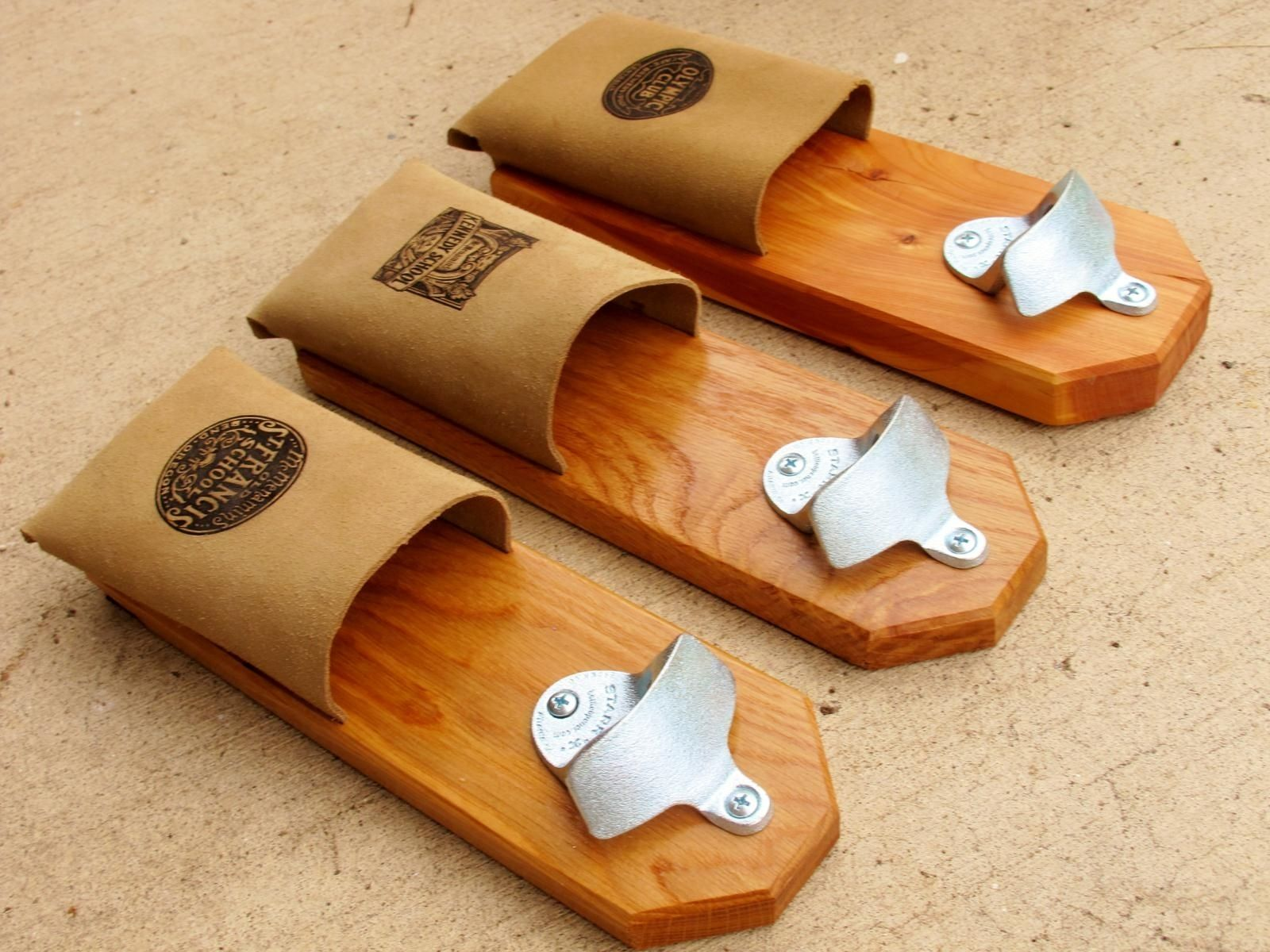 Hand Made Magnetic Bottle Openers By Elegant Woodworking Gifts