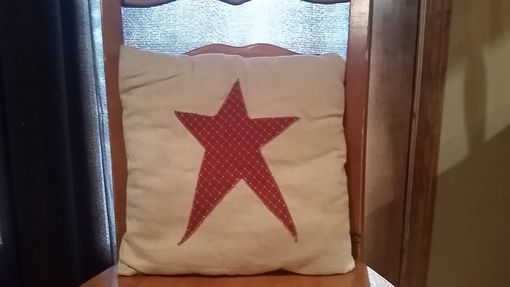 Custom Made Primitive Pillow