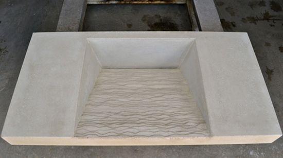 Custom Made Concrete Vanity Top