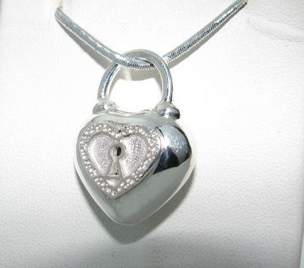 Custom Made Heart Pendant Two Sided