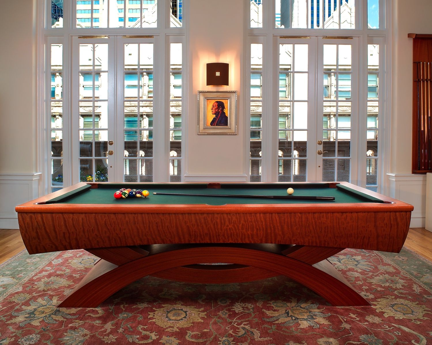 Custom Made Pool Table By Boykin Pearce Associates CustomMadecom - Lucite pool table
