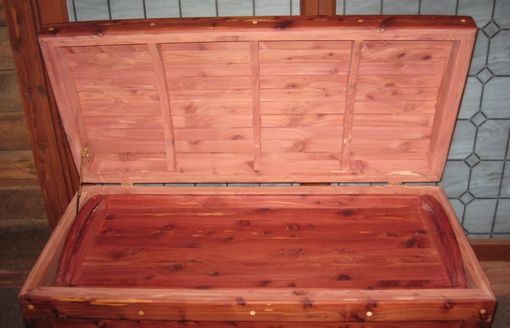 Custom Made Aromatic Red Cedar Chest With Coopered Lid