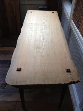 Custom Made Cypres Slab Table