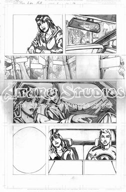 Custom Made Custom Sequential Art/Comic Book Project