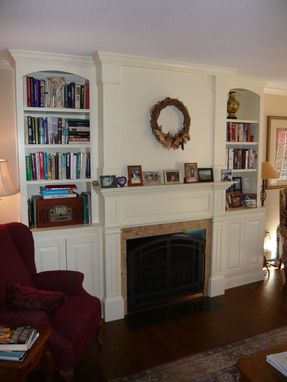 Custom Made Federal Fireplace Surround