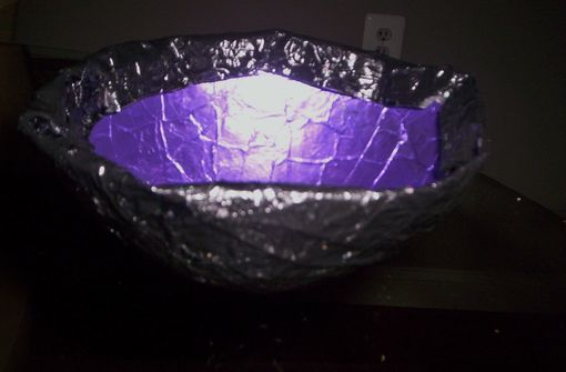 Custom Made Purple Rain Dish