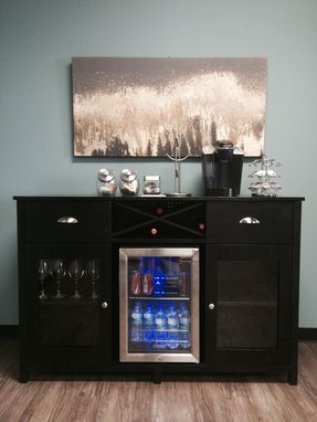 Custom Made Wine Credenza/Sideboard