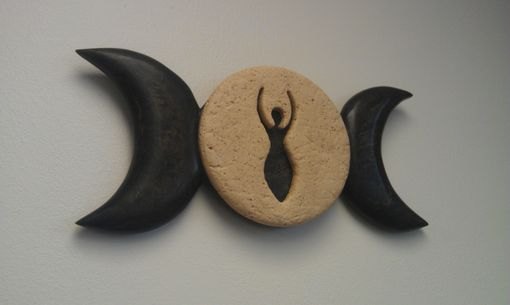 Custom Made Triple Moon Goddess