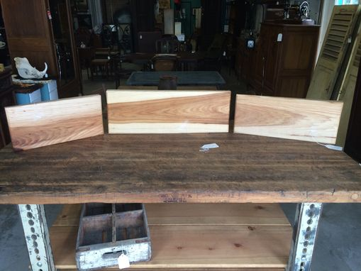 Custom Made Hickory Cutting Boards / Serving Trays