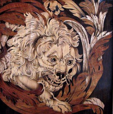 Custom Made Boulle Cut Lion