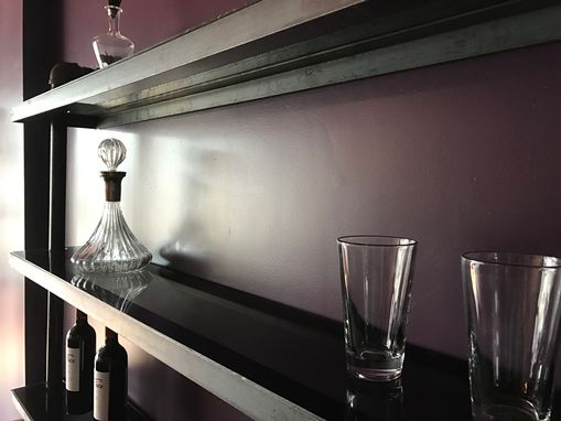 Custom Made Back Bar Shelves And Cabinet