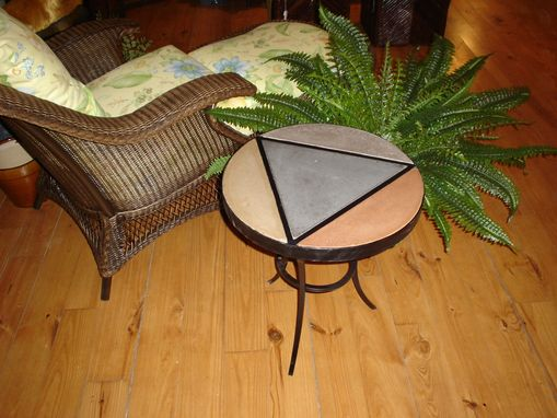 Custom Made Concrete Side Table