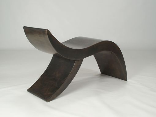 "Custom Made Furniture,Bench,Metal Sculpture ""Bench A"""