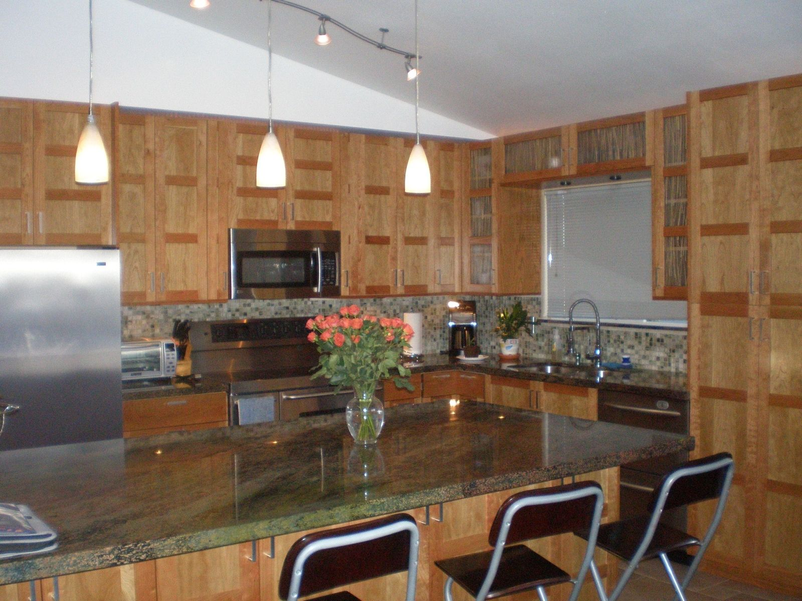Hand Made Cherry Kitchen Cabinets by Saw Tooth Designs Llc ...