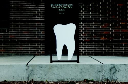 Custom Made Dental Sign