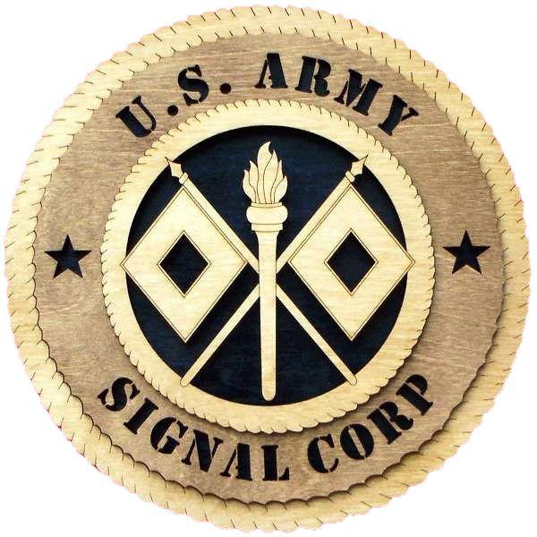 Buy A Custom Made U S Army Signal Corps Wall Tribute U S