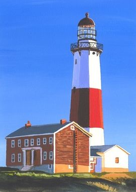 Custom Made New York's Montauk  Lighthouse