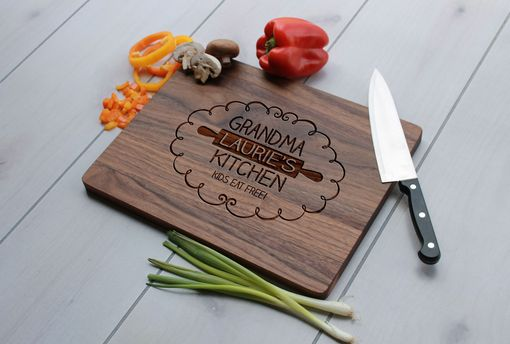 Custom Made Personalized Cutting Board, Cutting Board, Wedding Gift – Cb-Wal-Grandma Laurie'S Kitchen
