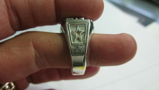 Custom Made Military Ring Project - Army, Air Force, Navy