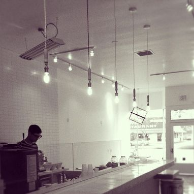 Custom Made Coffee Shop Chandeliers
