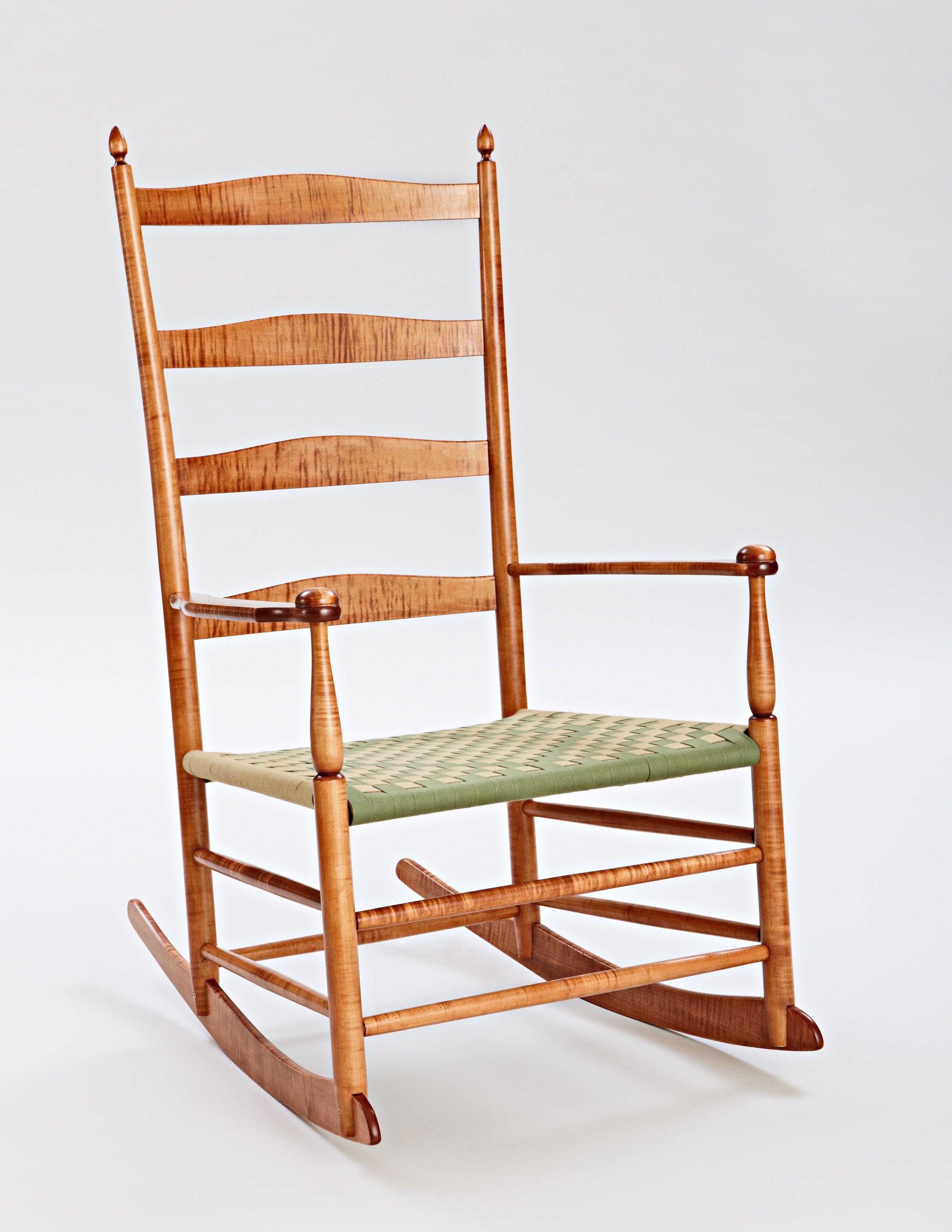Hand Crafted Shaker Rocking Chairs by MapleRock WoodWorks