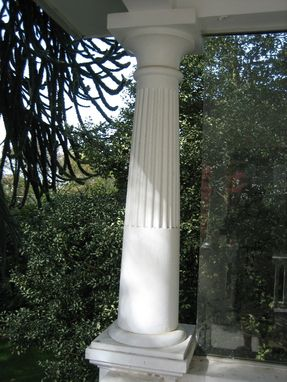 Custom Made Reproduction Of Existing Columns