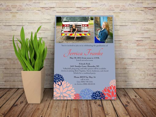 Custom Made Custom Invitation Design